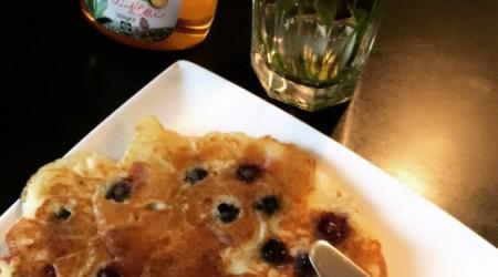 Jummy blueberry pancakes